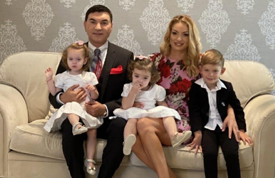 Vestea primită de Cristi Borcea după Sărbători. Ce a spus soţia sa despre mărirea familiei. Fostul acţionar are deja 9 copii