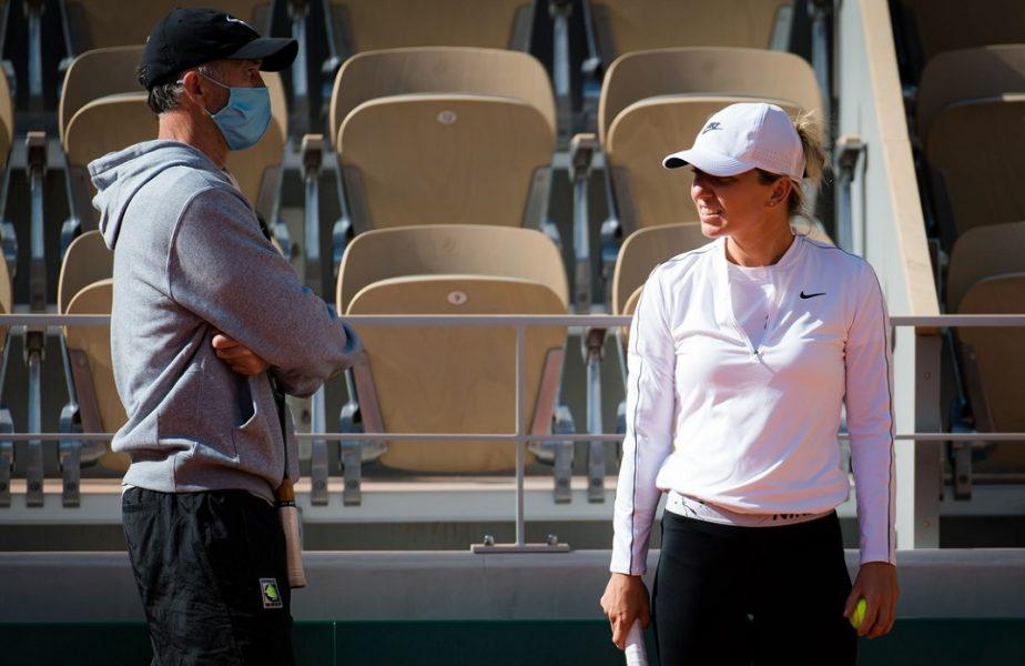 Simona Halep şi Darren Cahill, schimb amuzant de replici. Ce i-a transmis campioana de la Wimbledon chiar înainte să plece în Australia