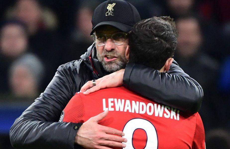 """""""Dacă dădeam 10 goluri, îmi datora 50 de euro"""". Robert Lewandowski, povestiri fabuloase despre Jurgen Klopp. """"Pur și simplu nu îl poți păcăli"""""""
