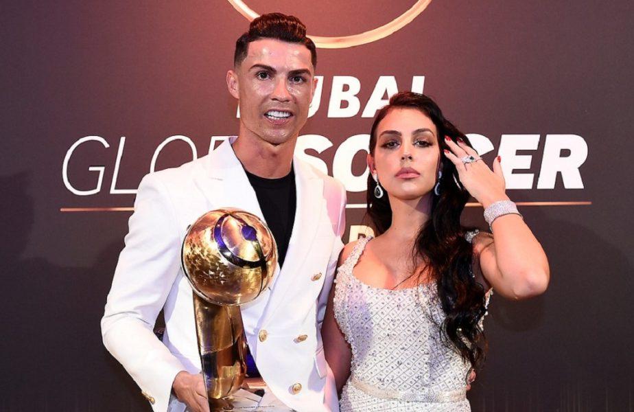 Cristiano Ronaldo şi Georgina Rodriguez atrag toate privirile. Bijuteriile cu care s-au afişat valorează o avere. Suma totală e fabuloasă