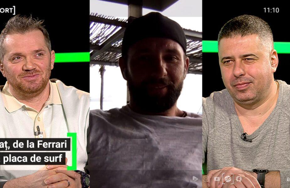 """EXCLUSIV AS.ro LIVE Răzvan Raţ, dezvăluiri de senzaţie! De unde a plecat pasiunea pentru Ferrari: """"Am avut grijă să nu ajung să dorm în maşină!"""""""