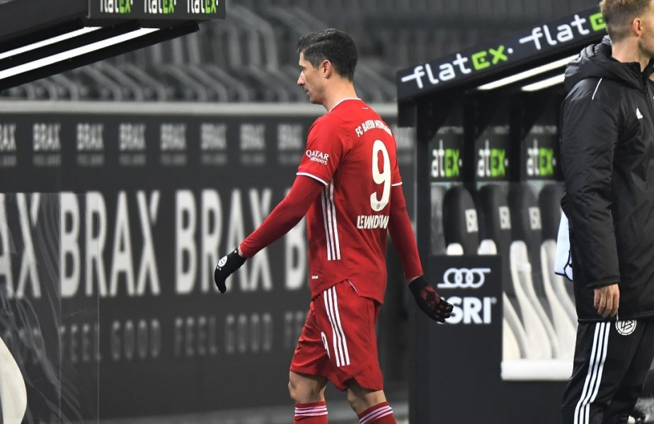 Robert Lewandowski, în tricoul lui Bayern Munchen