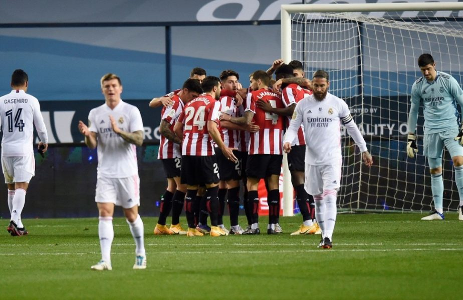Real Madrid – Athletic Bilbao 1-2 | Şoc în Spania! Galacticii lui Zidane au fost eliminaţi din Supercupă! Au ratat finala cu Barcelona