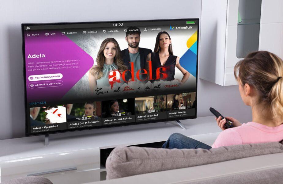 Premiera Adela se vede gratuit pe AntenaPlay. Utilizatorii pot câştiga un abonament valabil 1 an de zile pe AntenaPlay