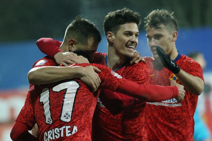 FCSB – Astra 3-0. Atac stelar al lui Toni Petrea. Dennis Man e distrugător şi în 2021! Tănase, dublă de senzaţie