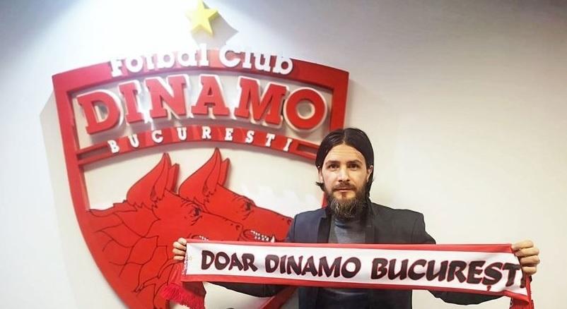 """OFICIAL   Ultraşii din programul DDB şi-au pus manager sportiv la Dinamo! """"Sper să salvăm clubul!"""""""