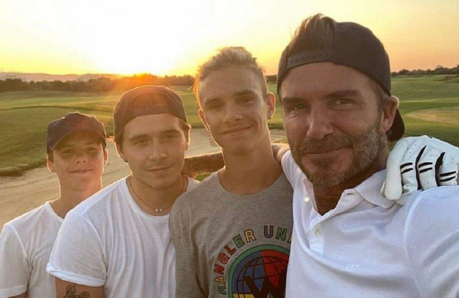 """""""Să le fie ruşine părinţilor!"""" Acuze dure la adresa fiului de 15 ani al lui David Beckham. A cerut 125.000 de euro pe un hanorac purtat"""