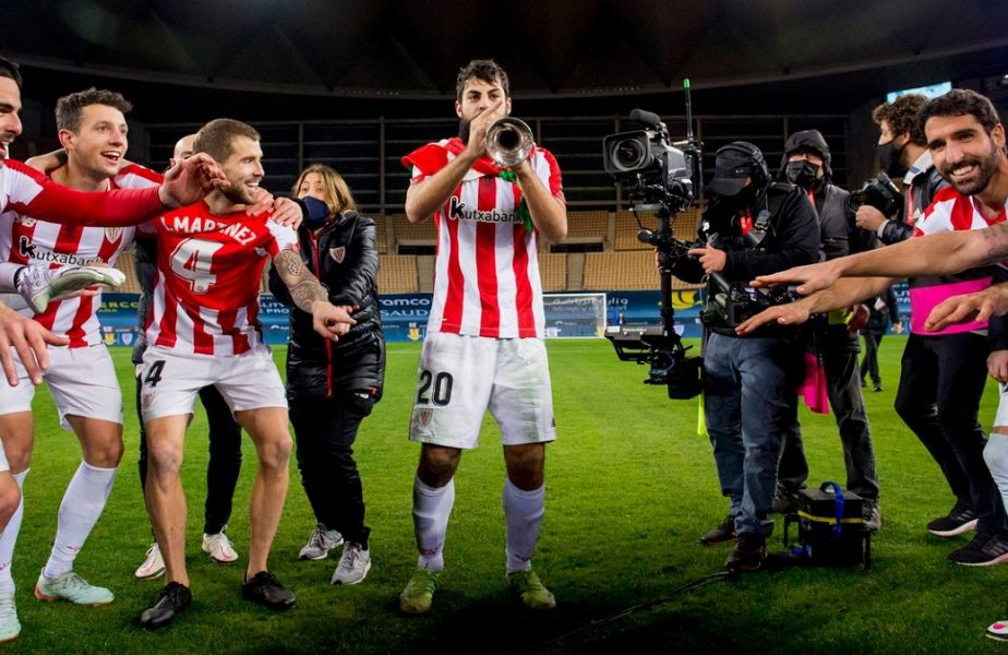 VIDEO   Bucurie fără margini! Show total făcut chiar de jucătorul lovit de Messi! A dat recital, cu trompeta, pe teren