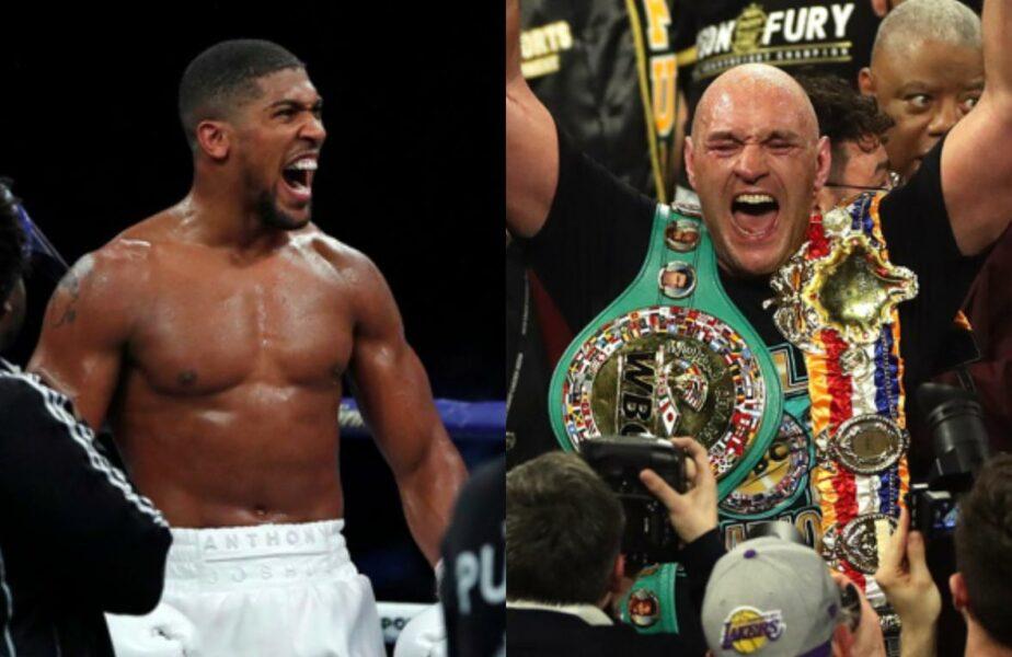 Joshua se bate cu Fury în meciul anului! Sumă impresionantă încasată de cei doi, peste $100.000.000