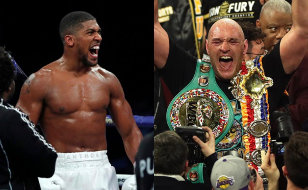 Joshua vs Fury