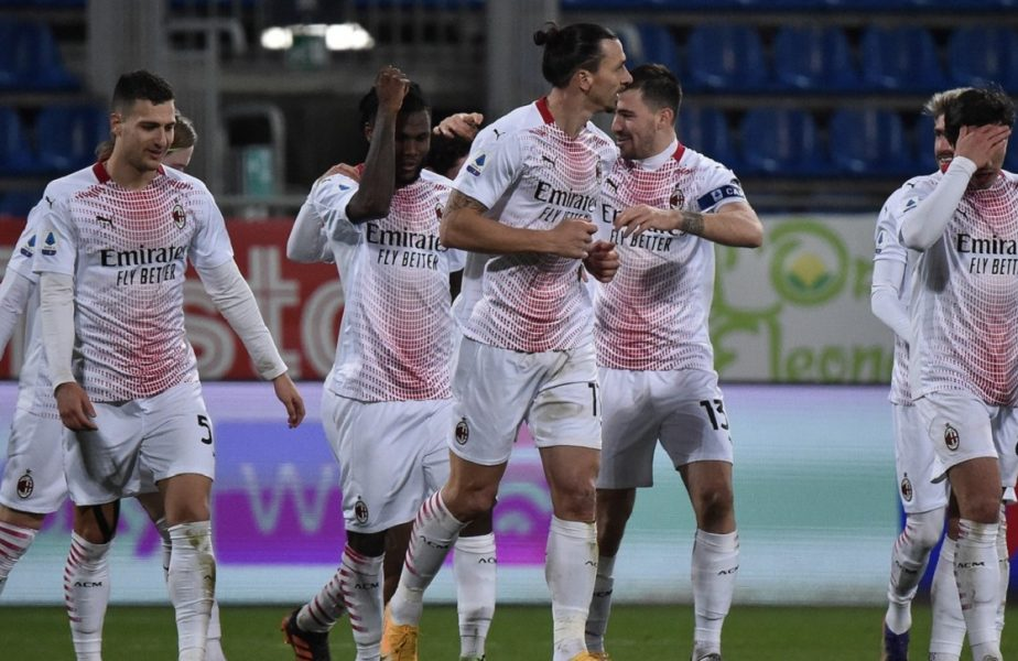"""Cagliari – Milan 0-2. Răzvan Marin, prea mic pentru uriaşul Zlatan! Ibrahimovic, revenire cu o """"dublă"""" de senzaţie. """"Bijuteria"""" reuşită de suedez"""