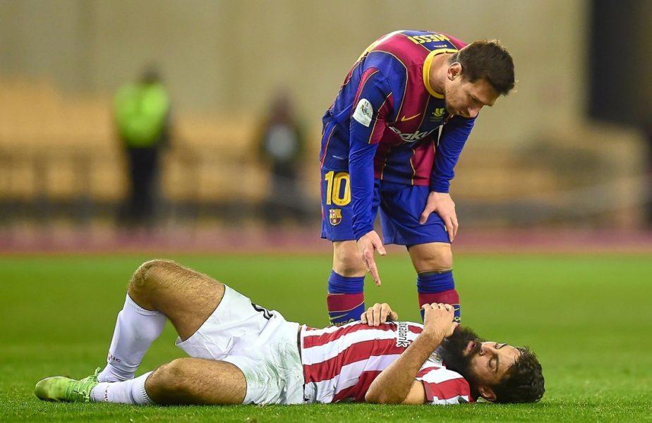 Lionel Messi a scăpat ieftin! Căpitanul Barcelonei şi-a aflat pedeapsa pentru eliminarea din Supercupa Spaniei