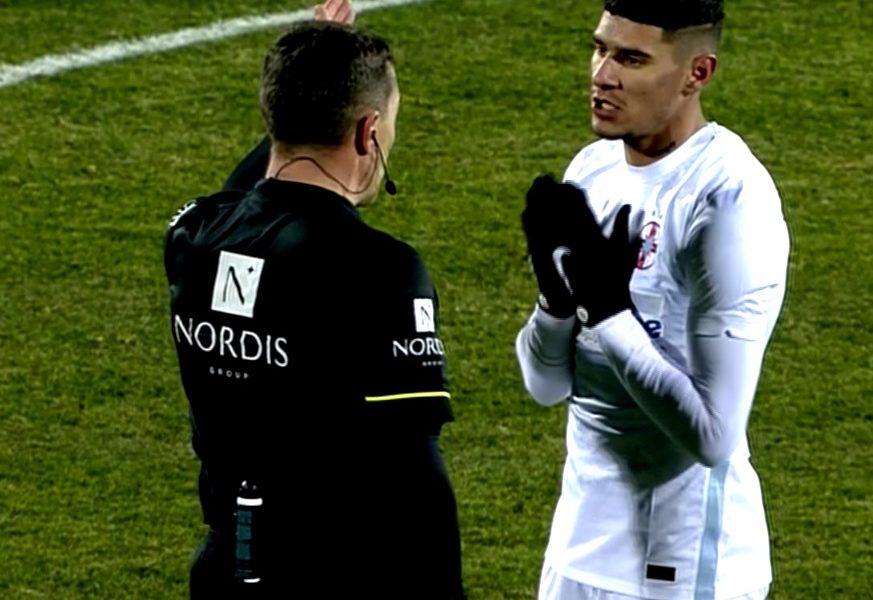 """FCSB a cerut penalty, Istvan Kovacs nu a dat nimic. Florinel Coman i-a cerut explicaţii la pauză! Cei doi au avut un conflict în 2019: """"Dispari"""""""