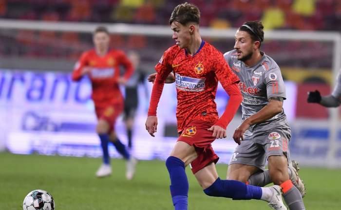 Octavian Popescu, urmaşul lui Lăcătuş! Noul star de la FCSB a scos încă un penalty! Cum poate obţine dublarea salariului de la Gigi Becali