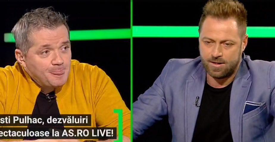 """EXCLUSIV AS.ro LIVE   Cristian Pulhac, dezvăluiri fabuloase: """"Era un băiat mai păros! I-au dat foc cu bricheta!"""" Cum a ratat transferul la Manchester United"""