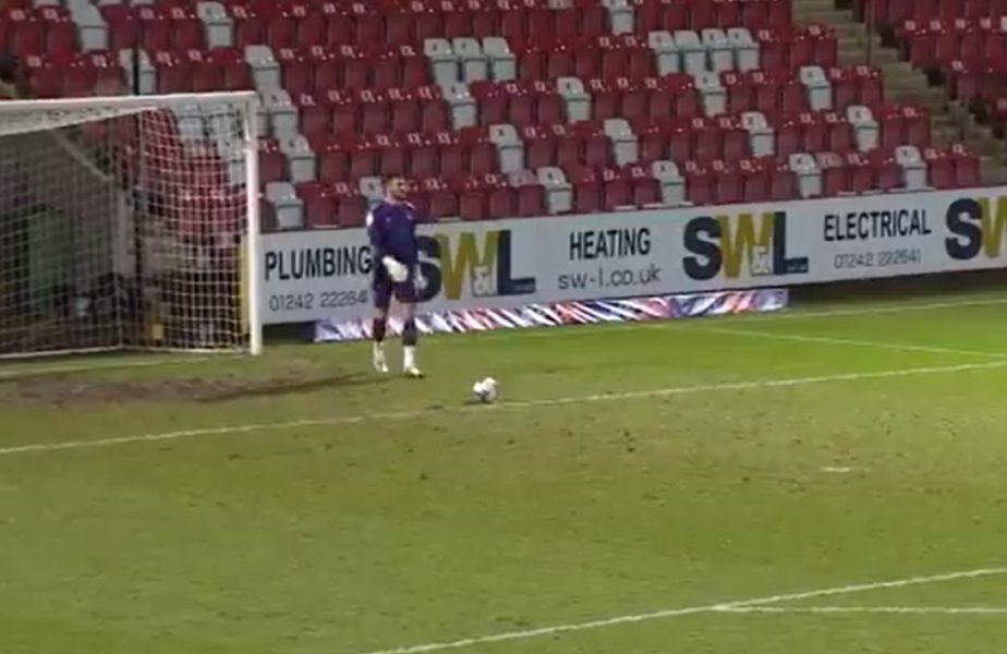 VIDEO | Golul uluitor marcat de un portar din Anglia! A înscris direct din degajare! Cum au reacţionat adversarii