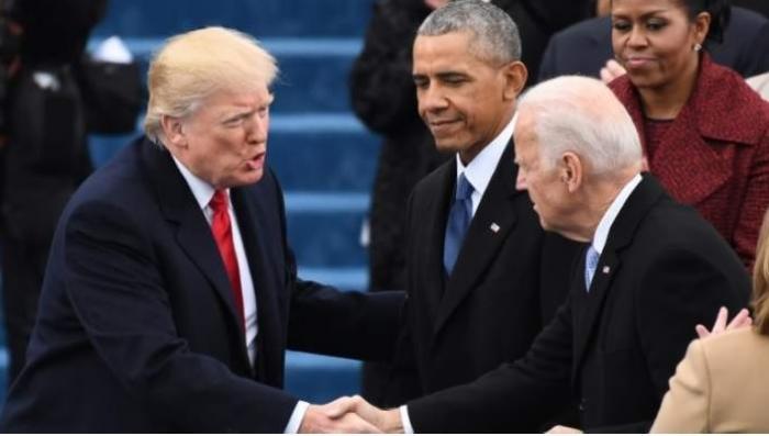 Donald Trump, Barack Obama, Joe Biden