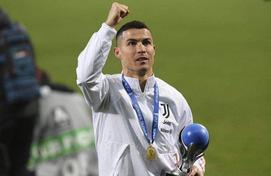 """VIDEO   Scene fabuloase! Cristiano Ronaldo dansează alături de colegii de la Juventus! Cehii vor să îi strice sărbătoarea. """"Nu i-a bătut recordul lui Bican"""""""