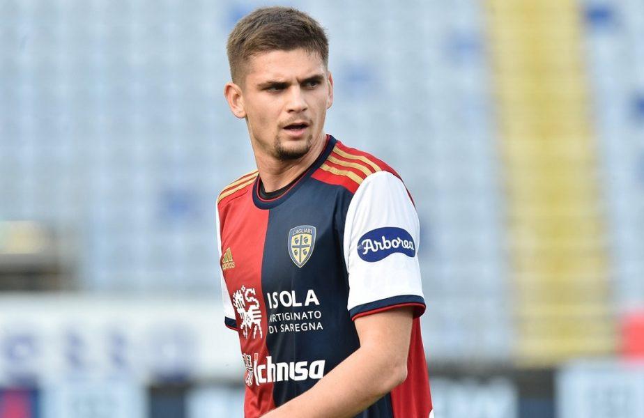 Transferul carierei pentru Răzvan Marin! Antonio Conte îl vrea la Inter Milano! Suma uriaşă pentru care ar putea fi cedat de Cagliari