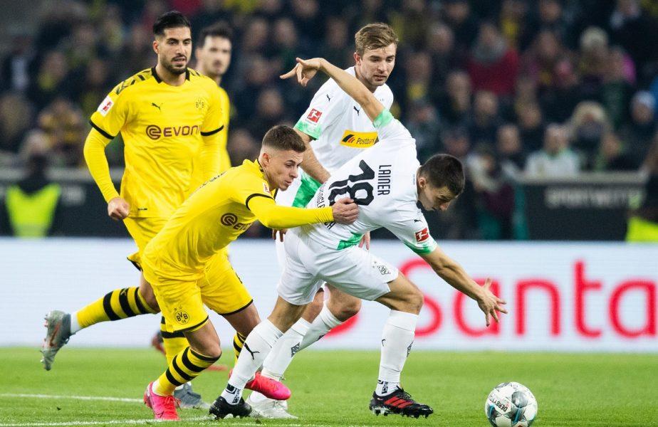 """Borussia Dortmund a uitat să mai câștige! După ce a răpus-o pe Bayern, Gladbach a mai făcut o """"victimă"""". Haaland, """"dublă"""" de consolare"""