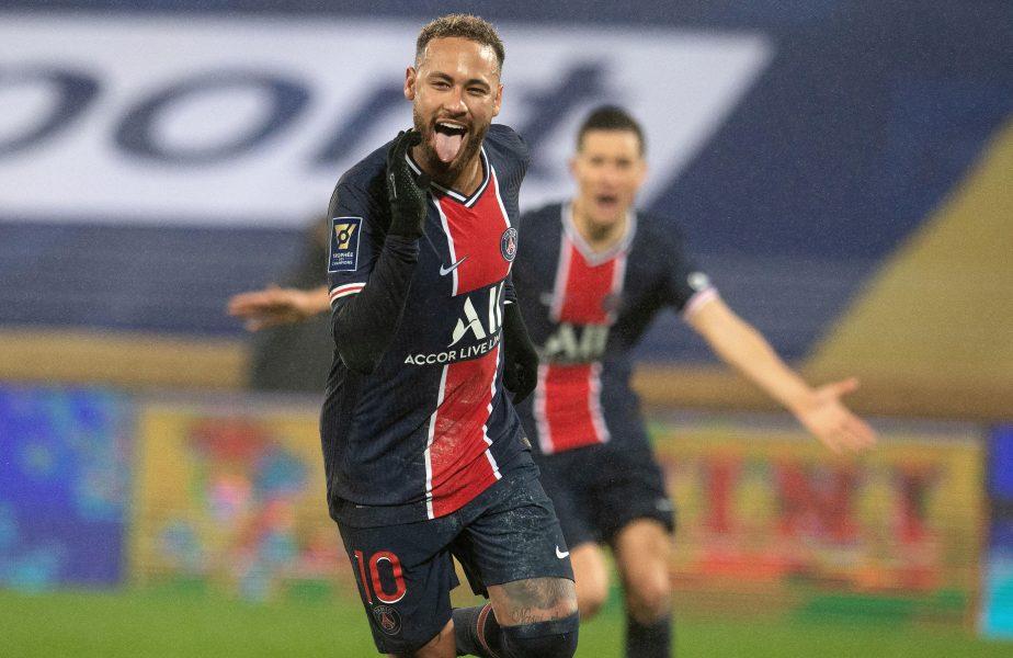 """Neymar a făcut show la partida 100 la PSG: """"Sunt foarte fericit, am şi marcat!"""" Campioana Franţei a demolat-o pe Montpellier"""