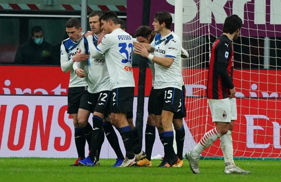 S-a relansat lupta la titlu în Serie A! Milan- Atalanta 0-3, Udinese – Inter 0-0. Șansă uriașă pentru Juventus și Cristiano Ronaldo