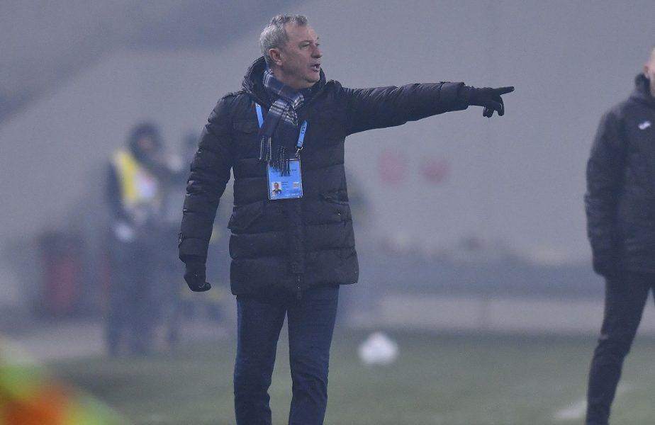 Mircea Rednic, prima reacţie după Craiova – Viitorul 1-1. Motivul pentru care a făcut 4 schimbări la pauză! Ce spune despre lupta la titlu