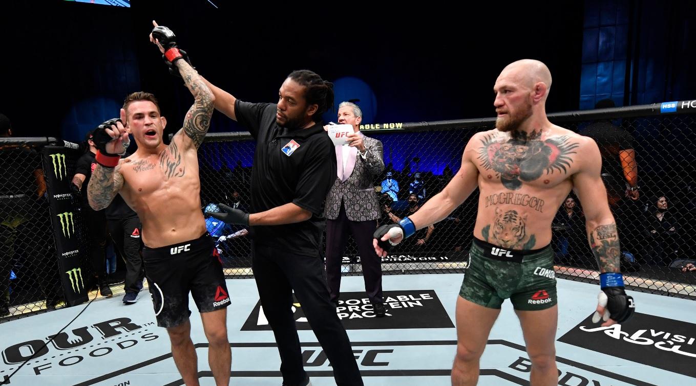 Conor McGregor, învins de Dustin Poirier