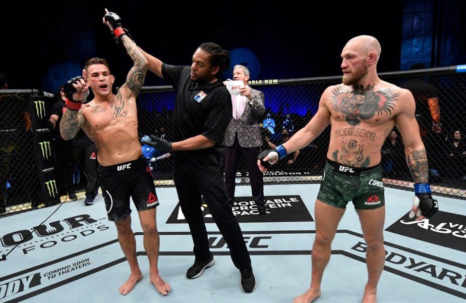 Conor McGregor, Dustin Poirier, UFC 257