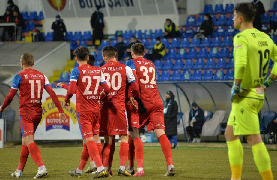 """Croitoru râde de Dinamo: """"Mai puteam marca încă patru goluri, dar avem meci peste trei zile"""". De ce s-a enervat pe arbitru. """"Asta e, suntem în România!"""""""