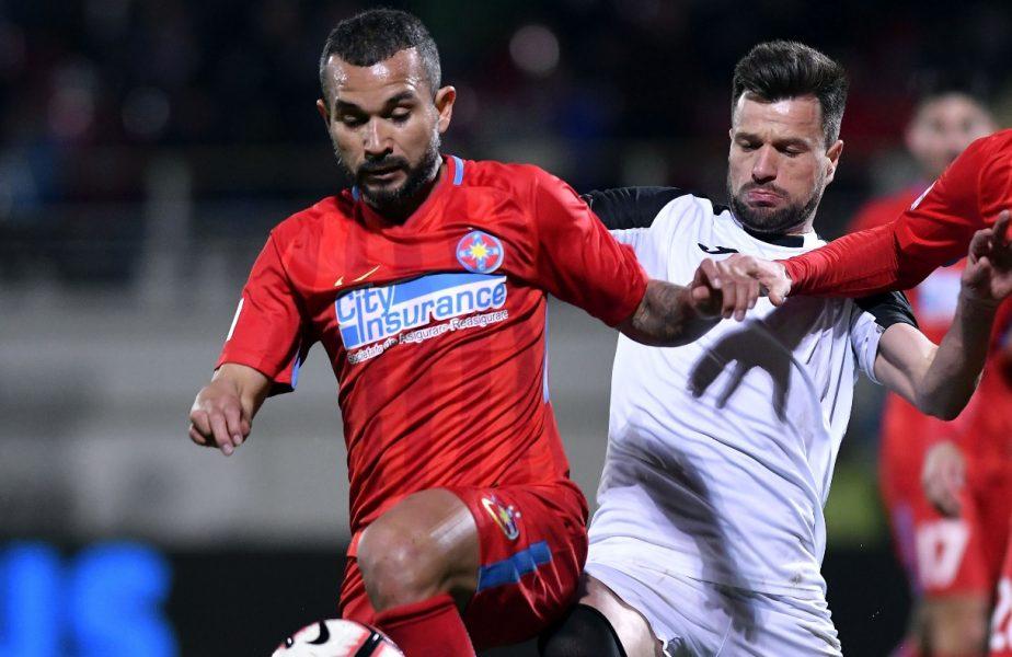 Junior Morais, într-un meci FCSB - Astra