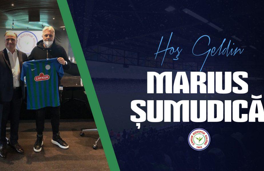 OFICIAL | Marius Şumudică a fost prezentat de Rizespor. Ceremonia anunţată de turci