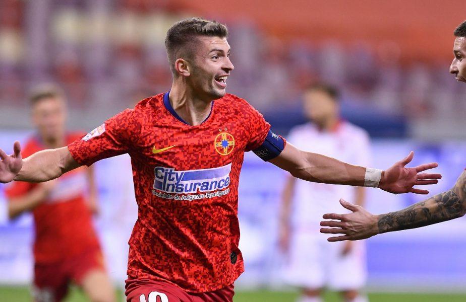 Florin Tănase, pe lista unui club important din Europa! Căpitanul de la FCSB se luptă cu alți trei jucători
