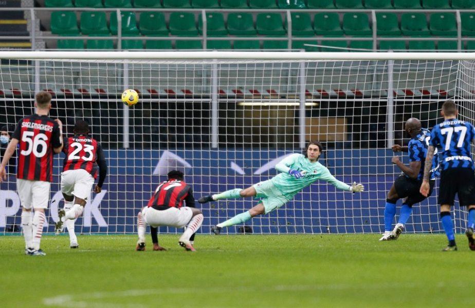Inter – Milan 2-1. Tătărușanu a luat gol în minutul 90+7! Ibrahimovic a fost eliminat şi era să se bată cu Lukaku. Belgianul i-a înjurat soţia