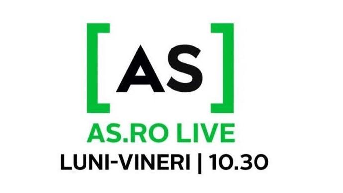 AS.ro LIVE   O ediţie magică! Robert Tudor a fost invitatul lui Cătălin Oprişan pe www.as.ro/live