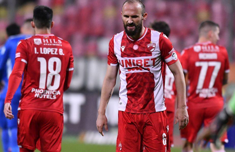 Dinamo – Gaz Metan Mediaş 2-1.Victorie cu cântec a dinamoviştilor. Ardelenii au cerut un penalty şi au acuzat fault la portar la golul al doilea
