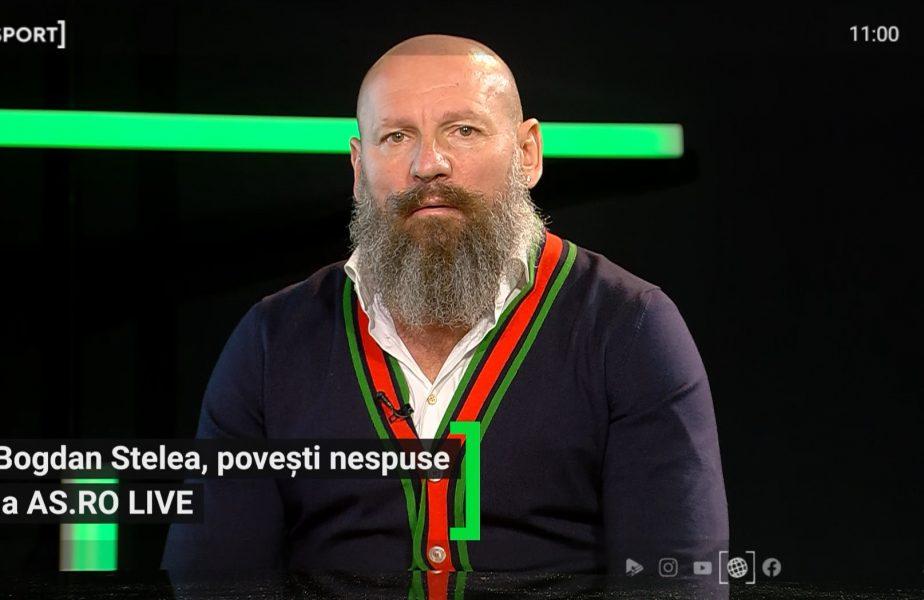 """AS.ro LIVE   Coșmarul lui Bogdan Stelea! Golul pe care nu-l poate uita: """"Nu mi-a trecut prin cap că poate să lovească așa"""""""