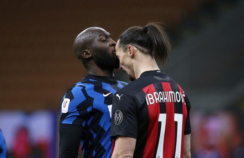 Ce sanctiuni au primit Ibrahimovic și Lukaku după scandalul monstru din Inter – Milan 2-1. Belgianul ar putea răspunde penal