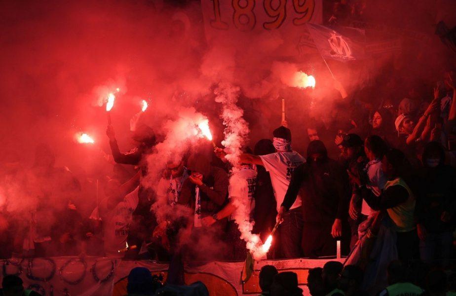 VIDEO | Haos la o fostă campioană a Europei! Sute de fani au dat foc şi au forţat intrarea în baza de antrenament. Meciul lui Marseille, amânat