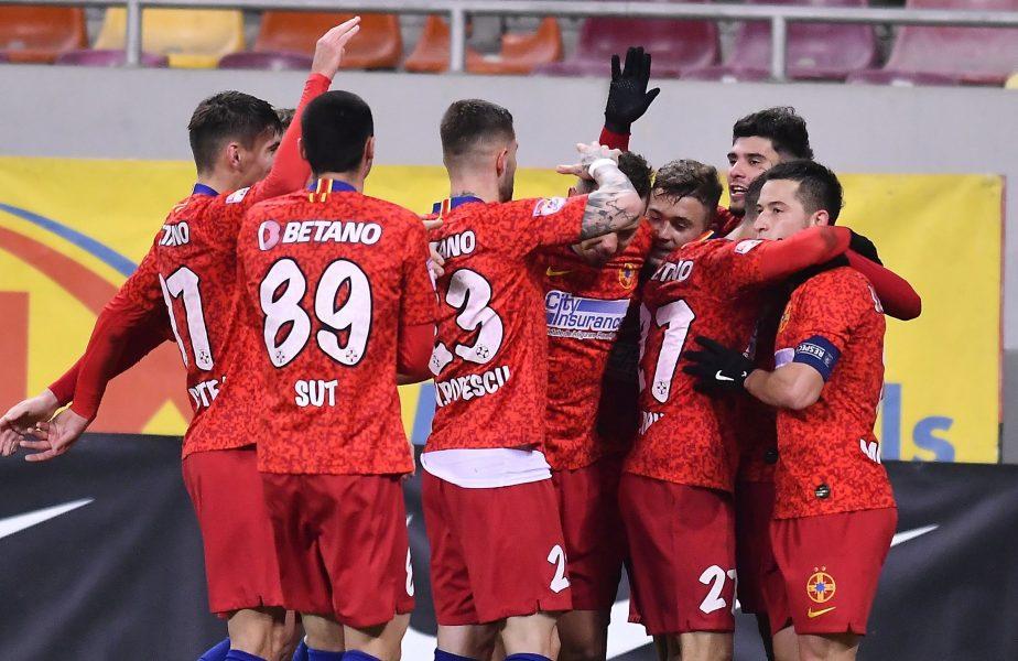 FCSB – Poli Iași 3-1. Octavian Popescu a strălucit. Gol și pasă decisivă! Reușită superbă și a lui Moruțan pentru liderul Ligii 1