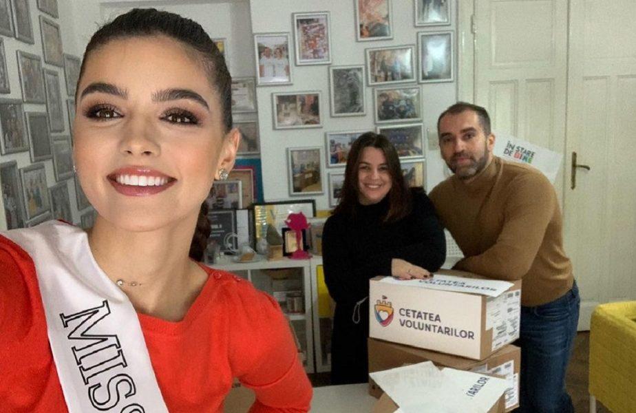 """Iniţiativă impresionantă a iubitei lui Adrian Petre. Ce îşi doreşte de ziua ei tânăra care a câştigat """"Miss Universe România"""""""