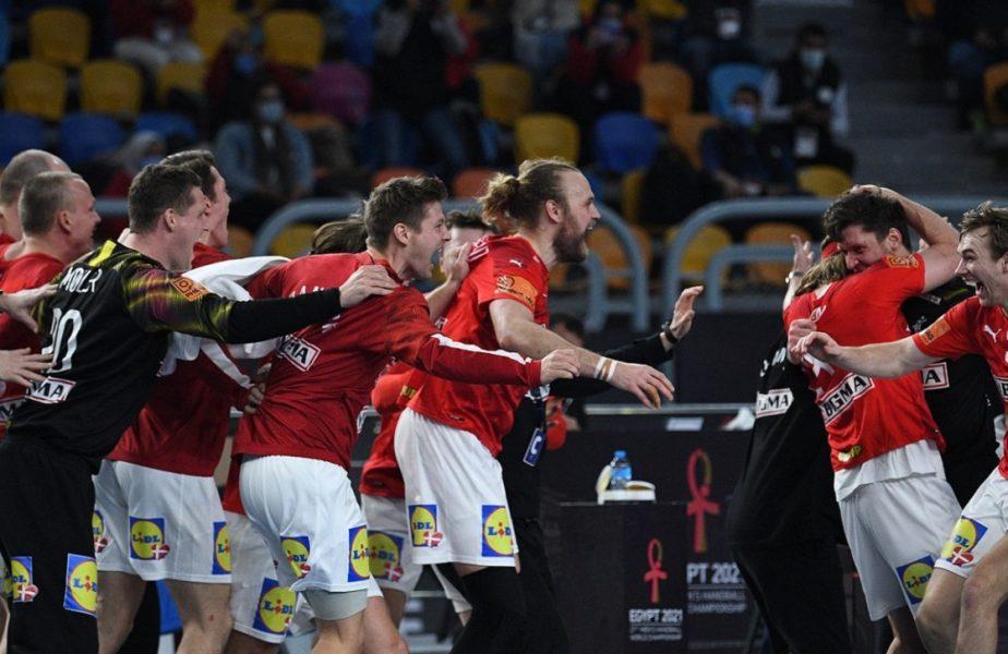 Danemarca a câştigat Campionatul Mondial de handbal masculin! A învins-o în finală pe Suedia cu 26-24 şi a cucerit al doilea titlu consecutiv