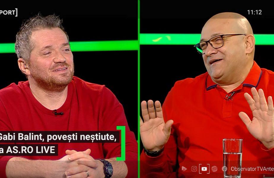 EXCLUSIV AS.ro LIVE | Gabi Balint, povești savuroase de la Sevilla 86! Cum a ajuns să execute penalty și cum au petrecut după meci
