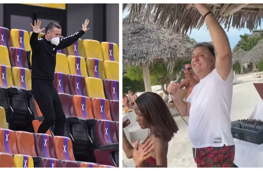 """Reacţia fabuloasă a lui Mihai Stoica, după ce a văzut imaginile virale cu Vali Vijelie în timp ce cânta manele pe o plajă din Zanzibar: """"Tărâmul lui Vali The Storm"""" :))"""