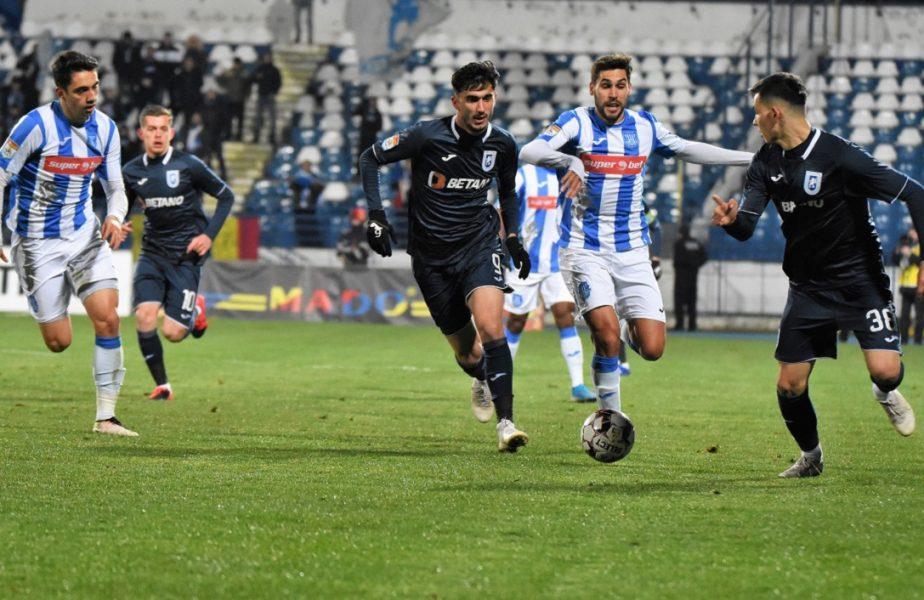 """Poli Iaşi – Craiova 0-3. Succes de """"Bon"""" venit. Oltenii au rupt blestemul celor 7 meciuri fără victorie"""
