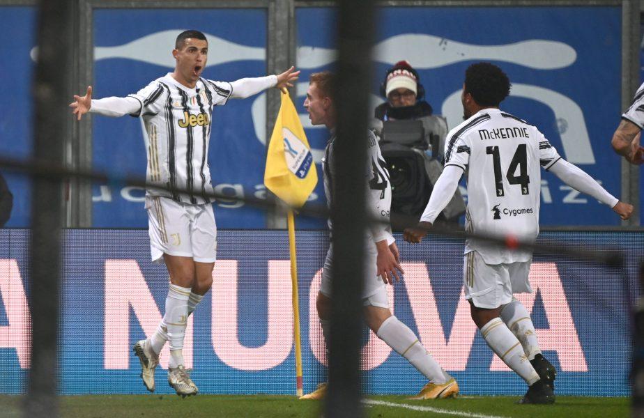"""Inter – Juventus 1-2. Ronaldo, dublă de senzaţie în doar 9 minute. Marca: """"Cel mai bun marcator din istorie!"""" United, MASACRU în Premier League: 9-0 cu Southampton"""