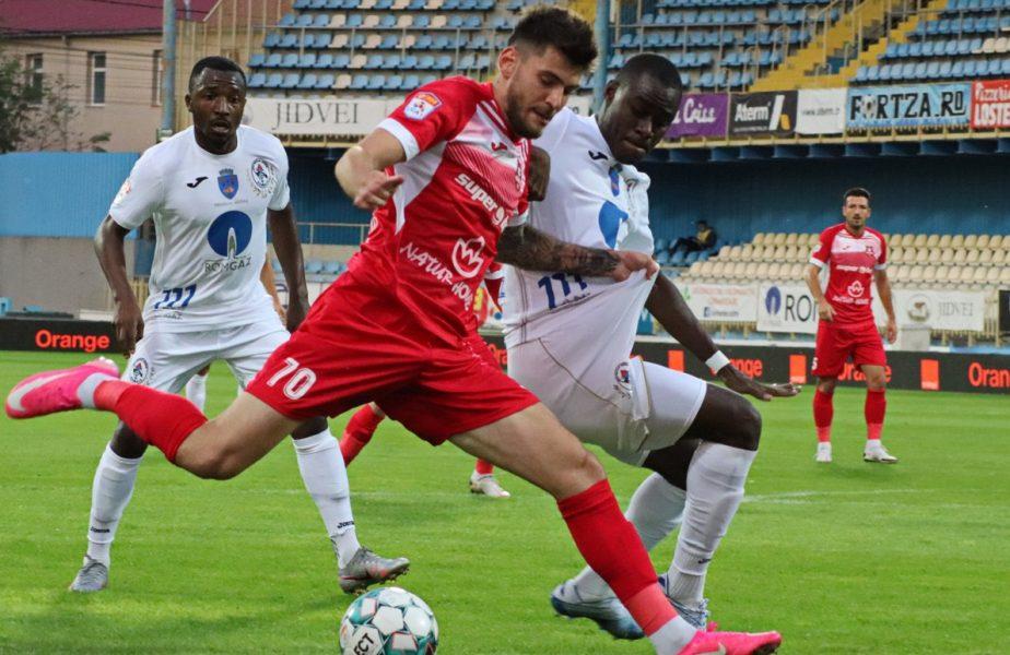 Hermannstadt – Gaz Metan 1-1. Mihai Teja a debutat cu o remiză pe banca medieşenilor. Chamed l-a ajutat cu o super-execuţie!