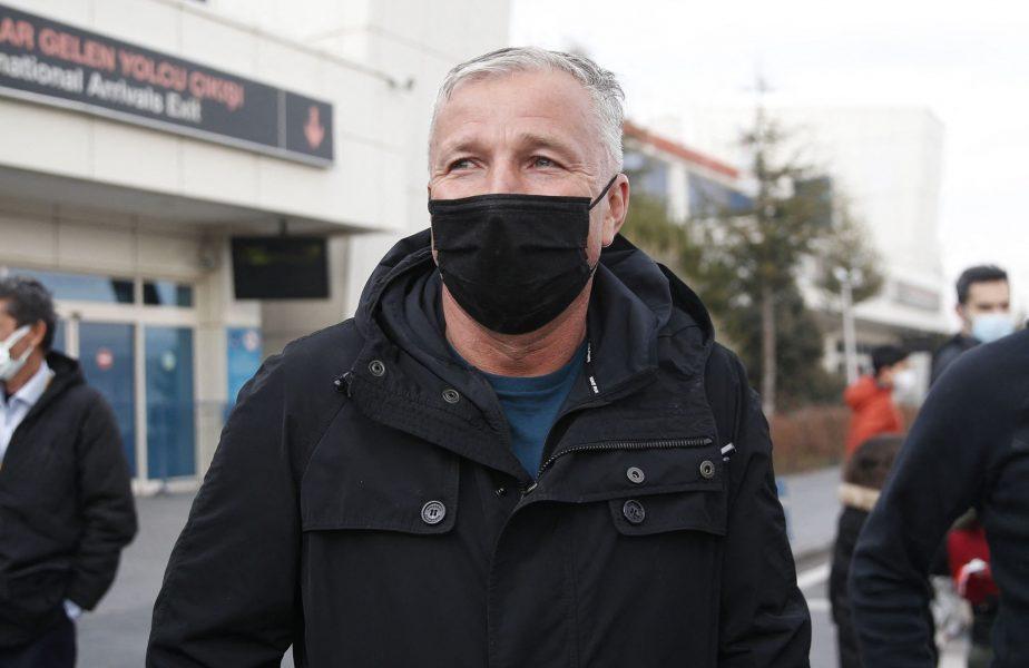 Meci de coşmar pentru Dan Petrescu în Turcia! A fost egalat după ce Săpunaru a luat două galbene în 9 minute