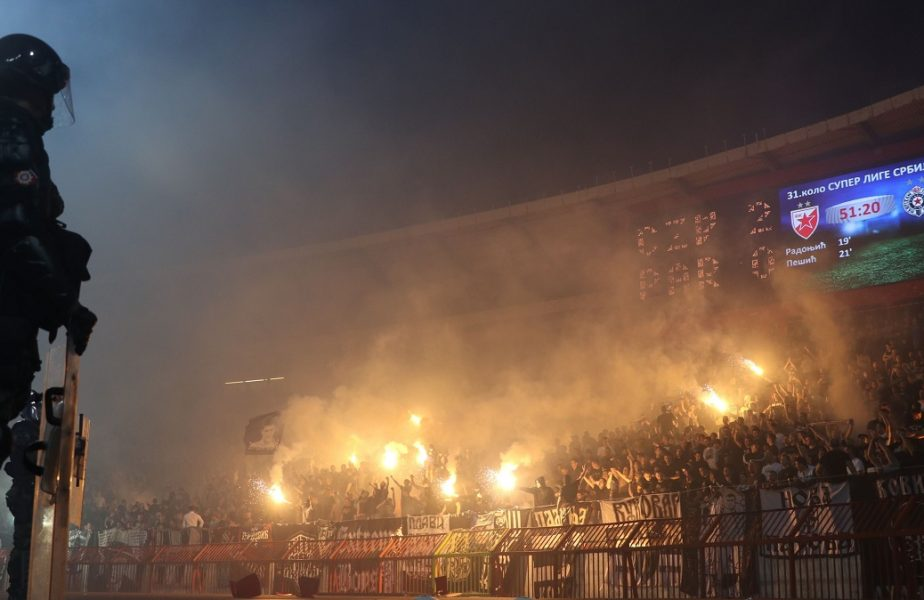 Interveniţie fără precedent a poliţiştilor. 17 fani ai lui Partizan au fost arestaţi. Acuzele grave care li se aduc