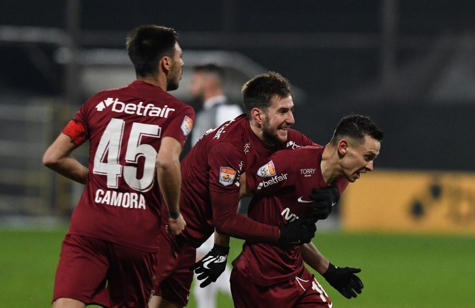 CFR Cluj – Viitorul 2-1. Ovidiu Hoban i-a adus campioanei victoria în prelungiri! Ardelenii s-au apropiat la un punct de liderul FCSB